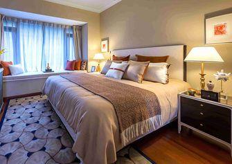 140平米三室一厅混搭风格卧室图片大全
