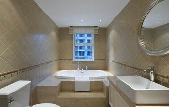 120平米公寓美式风格卫生间图