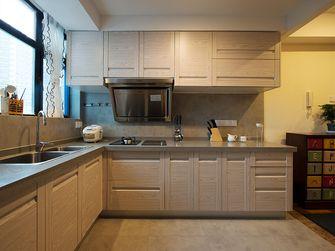 90平米三室一厅混搭风格厨房效果图