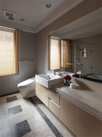130平米三室两厅欧式风格卫生间设计图