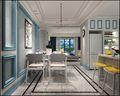 10-15万140平米四室两厅北欧风格餐厅欣赏图