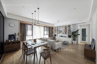 80平米四室三厅日式风格客厅图