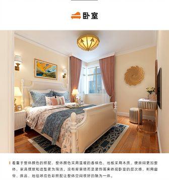 50平米欧式风格卧室图