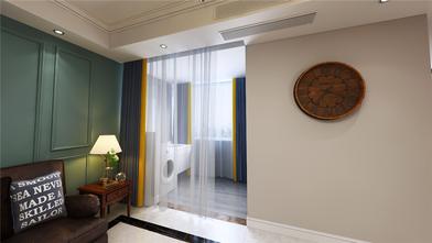 5-10万110平米三室两厅混搭风格阳台装修效果图