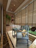 140平米别墅东南亚风格阳台设计图