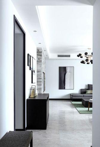 80平米三室一厅现代简约风格玄关效果图