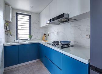 140平米英伦风格厨房装修图片大全
