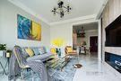 80平米混搭风格客厅沙发图片大全
