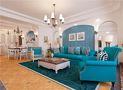 5-10万140平米四室四厅地中海风格客厅设计图