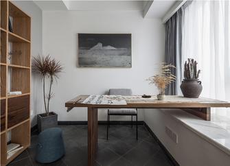 120平米三室两厅日式风格书房图片
