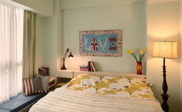 80平米一室一厅田园风格卧室装修效果图