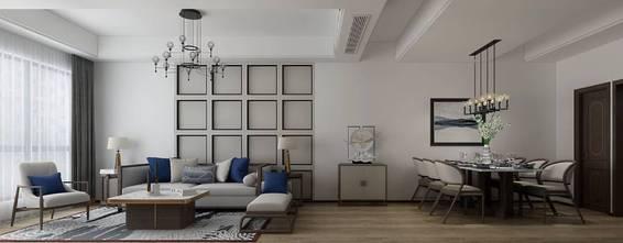 80平米地中海风格客厅图片