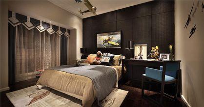 90平米三室两厅新古典风格卧室图片