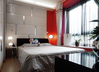 富裕型130平米三室两厅现代简约风格卧室图片