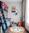 120平米三室一厅日式风格儿童房欣赏图