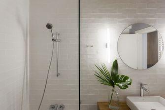 130平米三室两厅日式风格卫生间图