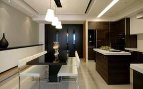 15-20萬140平米三室一廳混搭風格餐廳欣賞圖