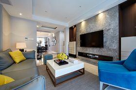 经济型110平米三室一厅其他风格客厅图