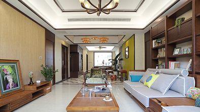 120平米东南亚风格客厅设计图