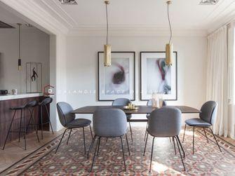 120平米三室一厅混搭风格餐厅装修图片大全