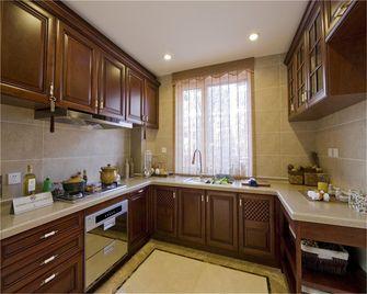 110平米三中式风格厨房欣赏图