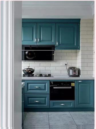 经济型30平米以下超小户型英伦风格厨房图片