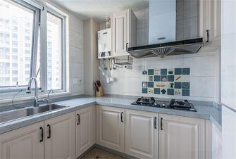 120平米三室三厅美式风格厨房欣赏图