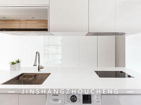 50平米公寓現代簡約風格廚房圖片