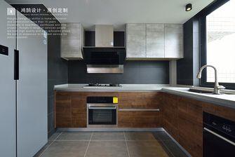 110平米北欧风格厨房欣赏图