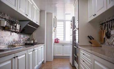 70平米地中海风格厨房图