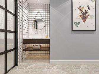 120平米三室两厅北欧风格卫生间装修案例
