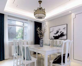 90平米中式风格餐厅设计图