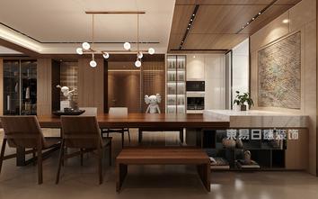 140平米四室四厅混搭风格餐厅设计图
