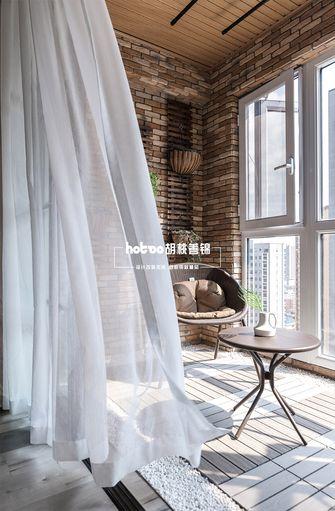 120平米三室两厅美式风格阳台图片