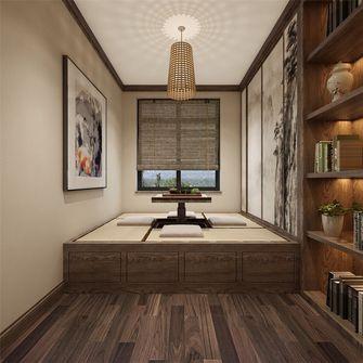 130平米三室两厅法式风格书房图片