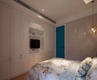 90平米三室两厅田园风格卧室装修图片大全