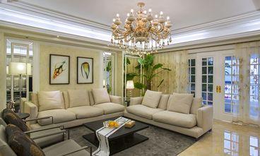 110平米法式风格客厅效果图