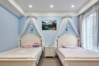 20万以上140平米别墅中式风格儿童房效果图