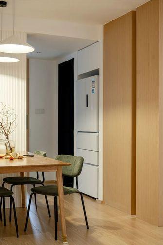110平米三室两厅田园风格餐厅图