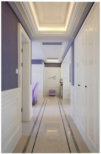 90平米三室两厅田园风格走廊装修效果图