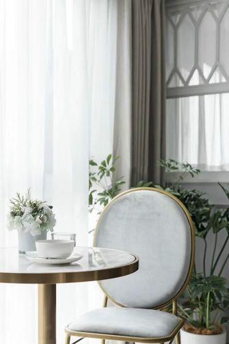 120平米三室两厅美式风格餐厅效果图