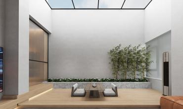 140平米复式北欧风格阳光房装修效果图