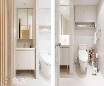 140平米三室一厅日式风格卫生间欣赏图