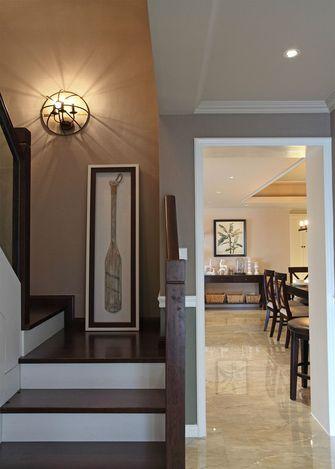 富裕型140平米复式美式风格楼梯装修效果图