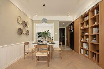 60平米一室两厅田园风格餐厅装修图片大全