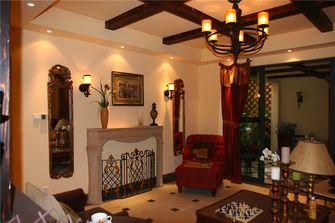 豪华型140平米四室两厅地中海风格影音室装修图片大全