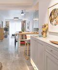 130平米三室两厅宜家风格客厅效果图