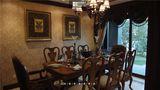 140平米别墅东南亚风格餐厅家具欣赏图