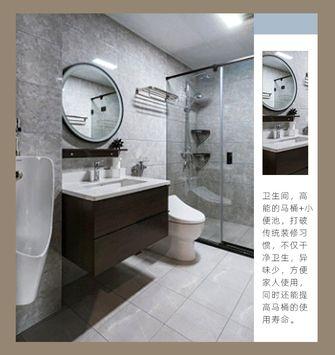 130平米四室一厅新古典风格卫生间图