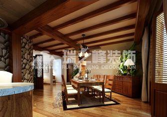 经济型100平米三室一厅东南亚风格玄关效果图